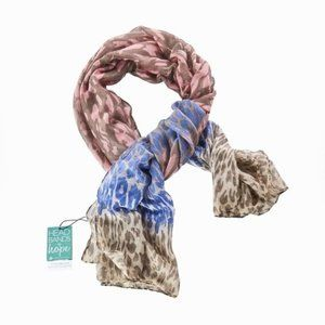 Headbands of Hope Ombre Animal Print Scarf NWT